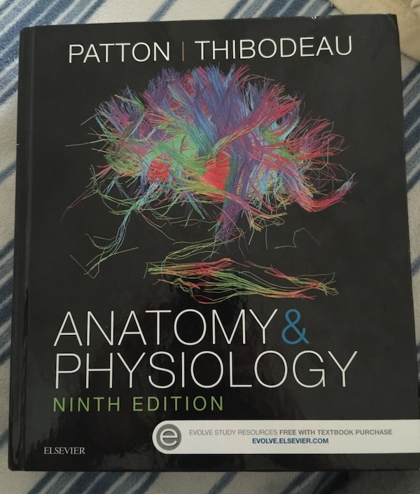 Used Anatomy and physiology 9th edition by Patton/thibodeau for sale ...