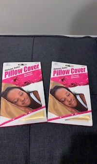MUST GO QUICK GOLD and IVORY Satin Pillow Cases (4 Total) Washington, 20017