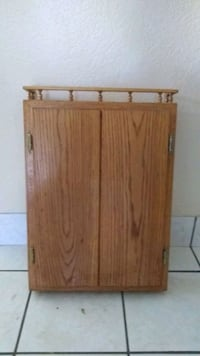 Real wooden, cabinet