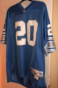 Barry Sanders Throwback Lions Jersey  North Baldwin, 11510