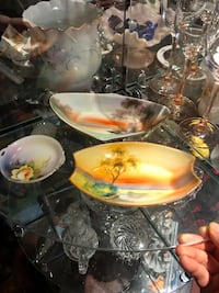 3 Stunning antique Nippon plates/ dishes  $65 for lot of 3 plates  Hamilton, L9C