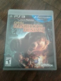 Cabela's Dangerous Hunts 2011 PS3 game case Redding, 96003