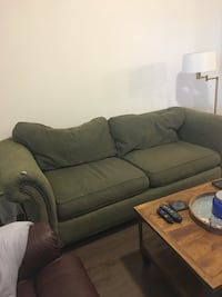 Green Fabric Couch Dallas, 75207