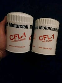 Two CFL1 oil filters 3156 km