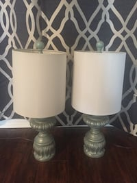 Pair of lamps In excellent condition Mississauga