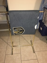 Rack Only!!!!! 34 inches high by 26 inches wide in great condition can be used outta the shower for towels , to dry clothes or as I used to hang extra blankets. located off lake mead and jones area asking $5 Las Vegas, 89108
