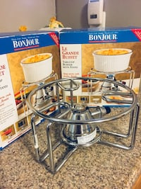 Bonjour buffet stove warmer and box Quincy, 02169
