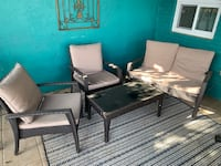 4 piece patio furniture set Alexandria, 22301