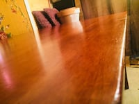 Dining wood table and 3 chairs 1301 mi