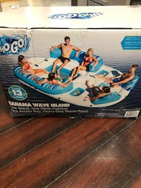 Bahama wave inflatable
