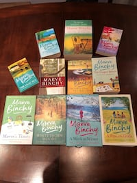 Maeve Binchy book collection