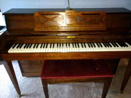 Bach piano in great condition.