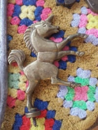 Heavy old solid brass unicorn  Pinellas Park