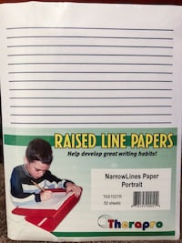 Therapro - Raised Line Papers - 50 sheets San Diego, 92111