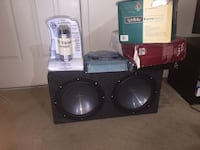 Kenwood 10 Inch Speakers with Box Killeen