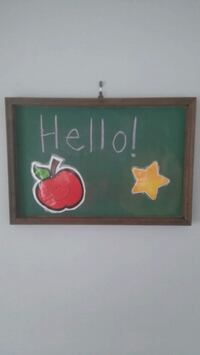 Small chalk board Mississauga