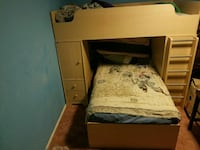 Bunk bed with desk Lake Havasu City, 86406