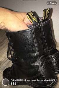 DR MARTENS women's boots size 8.5/9 some wear but lots of life left London, N5W 6E3