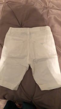 Size 7 Y Armani junior short for  girls