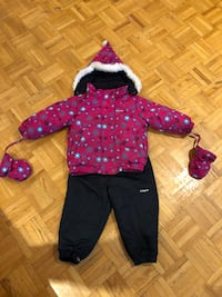 Snow suit for girl (size 24 months)