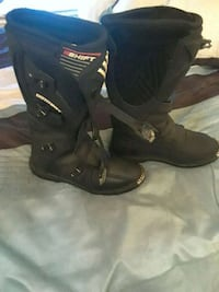 Motor cycle boots/Sz:11 51 km