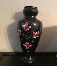 2 matching antique small Vases also- selling as 3 pc.set only!    Aurora, 97002