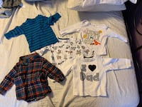 Baby clothes-used-like new 0-24months Mississauga, L5B 2V6