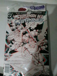 Superman red Superman blue first issue special 3D comic book Glen Burnie, 21060
