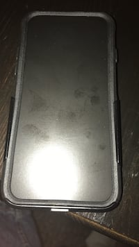 gray and black phone case