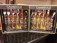 Cambridge 45-Piece Conquest Silverware Sets (2 AVAILABLE) Sacramento, 95815