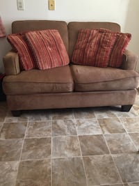 brown fabric 2-seat sofa Woodbridge, 22191