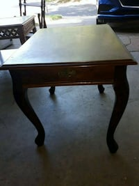 End table. Solid, needs cleanup Village, 73120