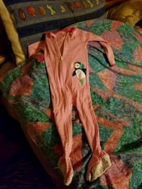 toddler's red and white footie pajama Lithonia, 30058