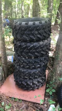 5 ATV tires 28x11x14 call [TL_HIDDEN]  Anniston, 36206