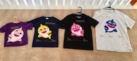 Baby shark family matching t-shirts Concord, 28027