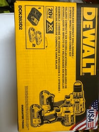 DEWALT Drill/Impact Combo Kit (2-Tool) with Battery and charge