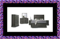 11pc Kate bedroom set free mattress and delivery Falls Church, 22041
