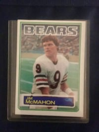 Jim McMahon rookie card topps '83 #33 Chicago, 60646