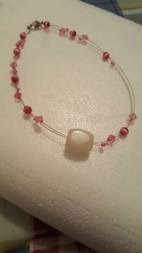 red and white beaded necklace Union, 63084