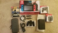 Nintendo Switch with accessories Manassas, 20110