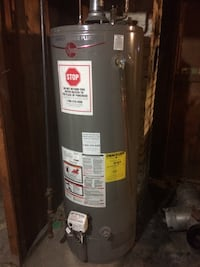 black and gray water heater tank 406 mi
