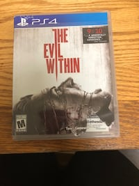 The evil within for PS4  Charlotte, 28202
