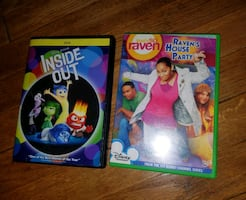 """""""inside out"""" and """"thats so raven"""" DVD movies"""