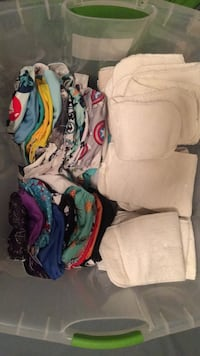 26 cloth diapers plus inserts Derry, 03038