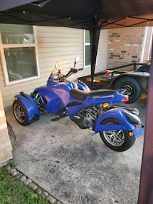 Can Am replica scooter