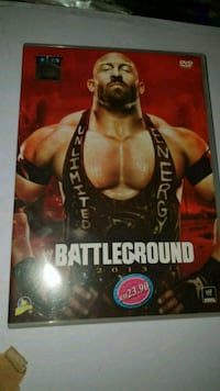 Wwe wrestling DVD Battleground 2013 Oslo kommune, 0986