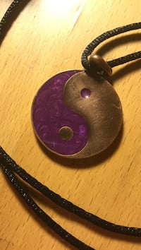 Yin Yang Copper necklace