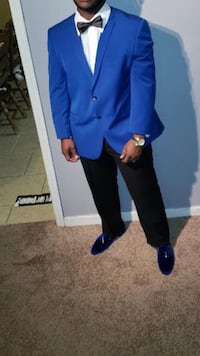 Blue suit comes with everything in picture including size 11 shoes Huntsville, 35810