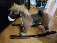 brown and white rocking horse Buffalo, 14201