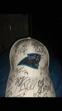 Panther sautographed hat Catawba, 28609